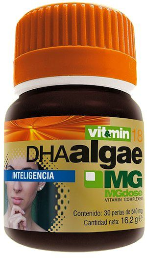 MGdose Dha Algae 30 cápsulas