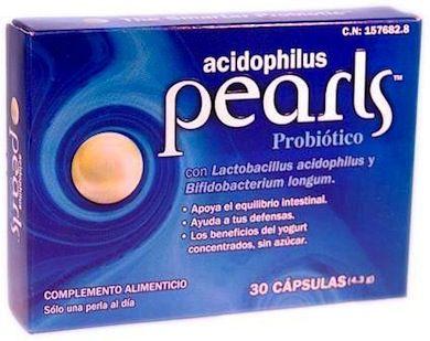 DHU Pearls Acidophilus 30 cápsulas
