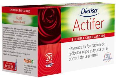 Dietisa Actifer 20 viales
