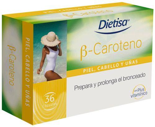 Dietisa B-Caroteno 36 cápsulas