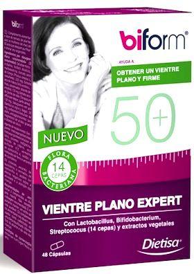 Dietisa Biform 50+ Vientre Plano Expert 48 cápsulas