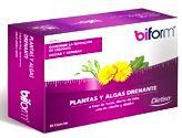 Dietisa Biform Plantas y Algas Drenante 60 cápsulas