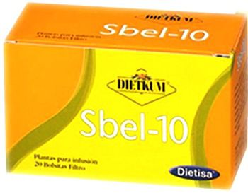 Dietisa Dietkum SBEL-10 infusión 20 unidades