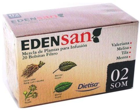 Dietisa Edensan 02 SOM Infusiones 20 unidades