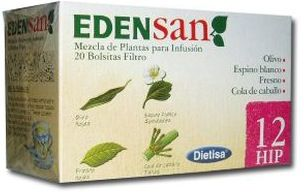 Dietisa Edensan 12 HIP Infusiones 20 unidades