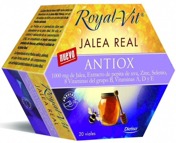 Dietisa Jalea Real Royal Vit Antiox 20 ampollas