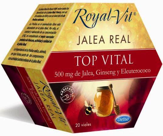 Dietisa Jalea Real Royal Vit Top Vital 20 ampollas