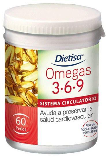 Dietisa Omegas 3-6-9  60 perlas