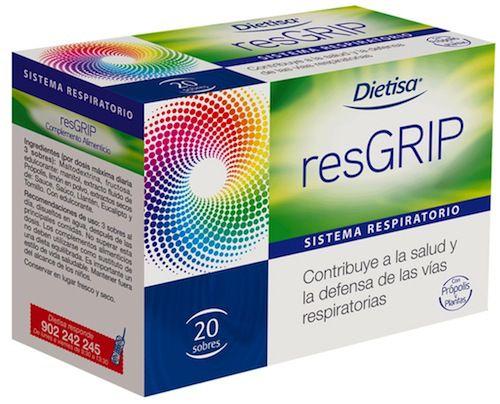 Dietisa Resgrip 20 sobres