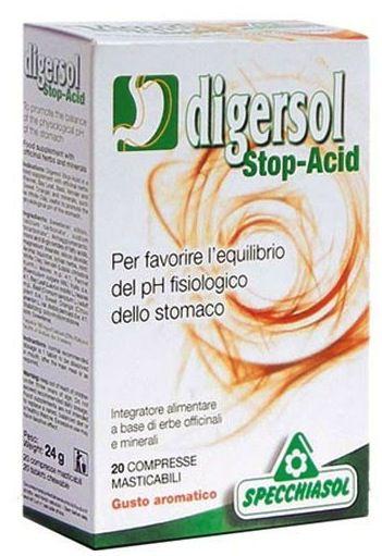 Specchiasol Digersol Stop Acid 20 masticables