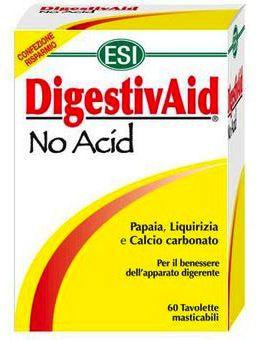 ESI Digestivaid No Acid 60 comprimidos