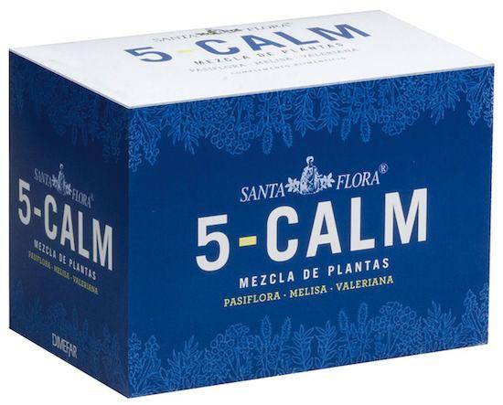 Dimefar Infusión 5 Calm Santa Flora 20 sobres