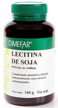 Dimefar Lecitina de Soja 1200mg 90 cápsulas