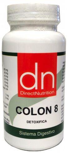 Direct Nutrition Colon 8 60 cápsulas
