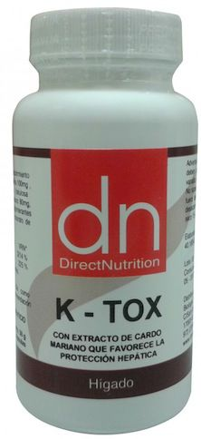 Direct Nutrition K-Tox 60 cápsulas