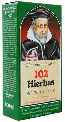 Dr Föster Aceite Corporal 102 Hierbas 100ml