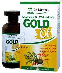 Dr Föster Aceite de Oro 100ml