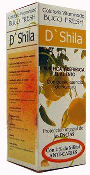 D'Shila Buco Fresh Naranja Colutorio 500ml