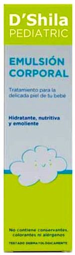D'Shila Pediatric Emulsión Corporal 200ml