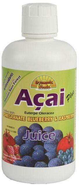 Dynamic Health Zumo de Açai 946ml