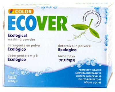 Ecover Detergente en Polvo Color 1,2 Kg