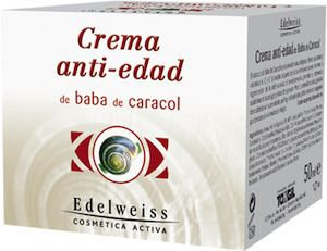 Edelweiss Crema Antiedad de Baba de Caracol 50ml