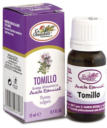 El Granero Integral Aceite Esencial de Tomillo 12 ml