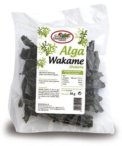 El Granero Integral Alga Wakame 50g