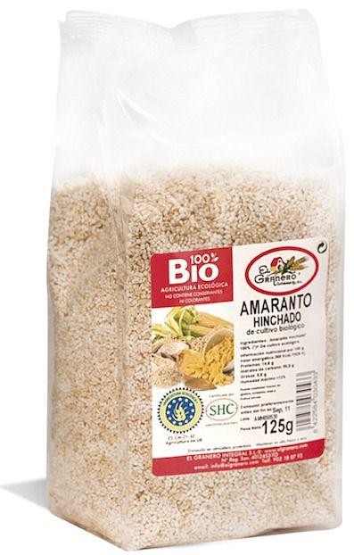 El Granero Integral Amaranto Hinchado Bio 125g