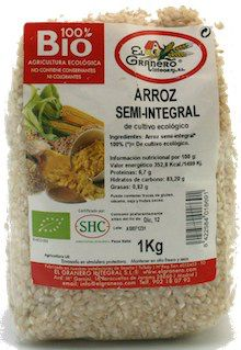 El Granero Integral Arroz semi-integral Bio 1kg