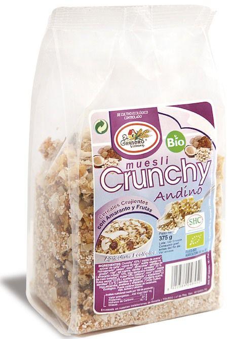 El Granero Integral Crunchy Andino Bio 375 g