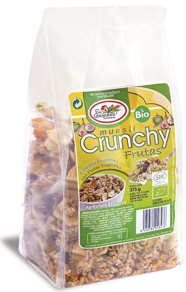 El Granero Integral Crunchy Frutas Bio 375 g