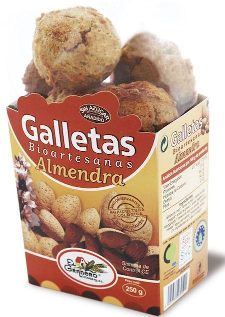 El Granero Integral Galletas Bioartesanas Almendra 250g