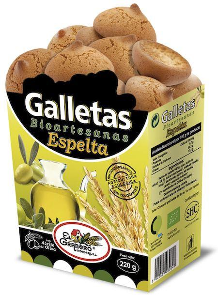 El Granero Integral Galletas Bioartesanas Espelta 220g