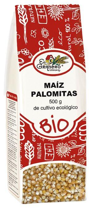 El Granero Integral Maíz Grano Palomitas Bio 500g
