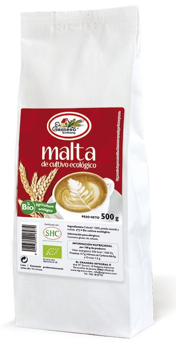 El Granero Integral Malta Bio 500 g