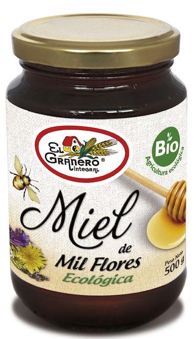 El Granero Integral Miel Mil Flores Bio 500g