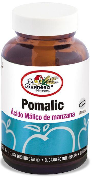 El Granero Integral Pomalic - Acido Málico de Manzana 60 cápsulas