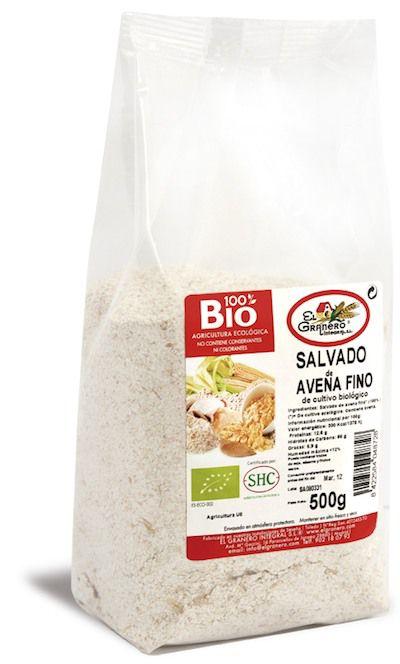El Granero Integral Salvado Avena Fino Bio 500g