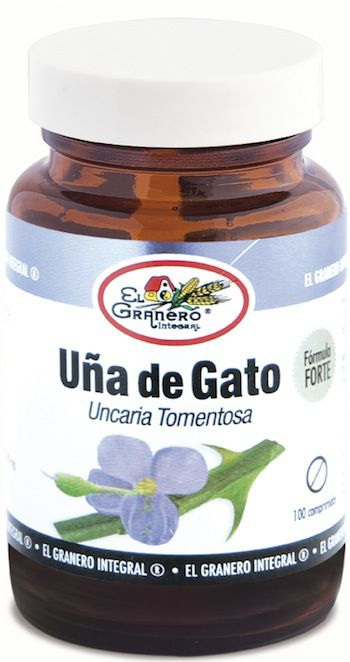 El Granero Integral Uña de Gato Forte 100 comprimidos 400mg