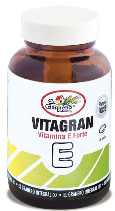El Granero Integral Vitagran Vitamina E Forte 100 perlas