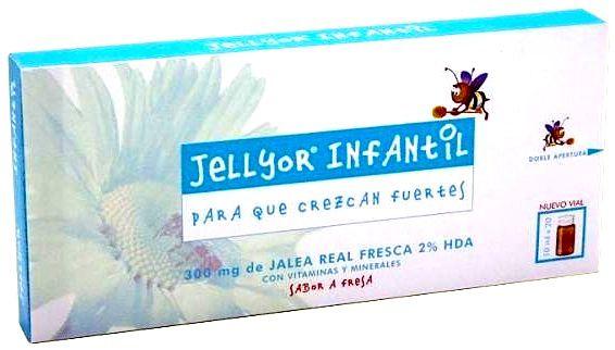Eladiet Jellyor Infantil 20 ampollas