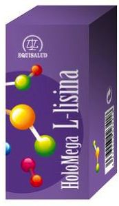 Equisalud Holomega L-Lisina 50 cápsulas