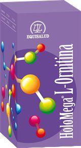 Equisalud Holomega L-Ornitina 50 cápsulas