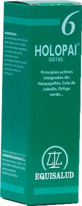 Equisalud Holopai 6 Regenerador Antiinflamatorio 31ml