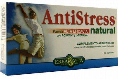 Erba Vita Antistress Natural 60 capsulas
