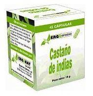 Ergonat Castaño de Indias 45 cápsulas