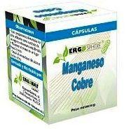 Ergonat Manganeso Cobre 50 cápsulas