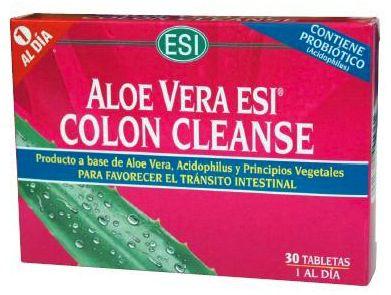 ESI Aloe Vera Colon Cleanse 30 comprimidos
