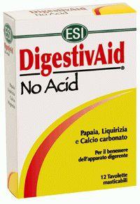 ESI Digestivaid No Acid 12 comprimidos